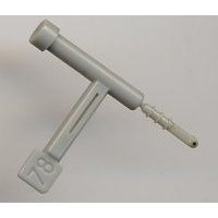 SOUNDRING D373SR Stereo/2 Ceramic Stylus for Lesa