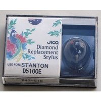 JICO elliptical Stylus for Stanton 500E phono cartridge
